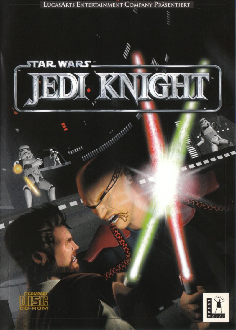 Star Wars: Jedi Knight - Dark Forces II Windows Front Cover