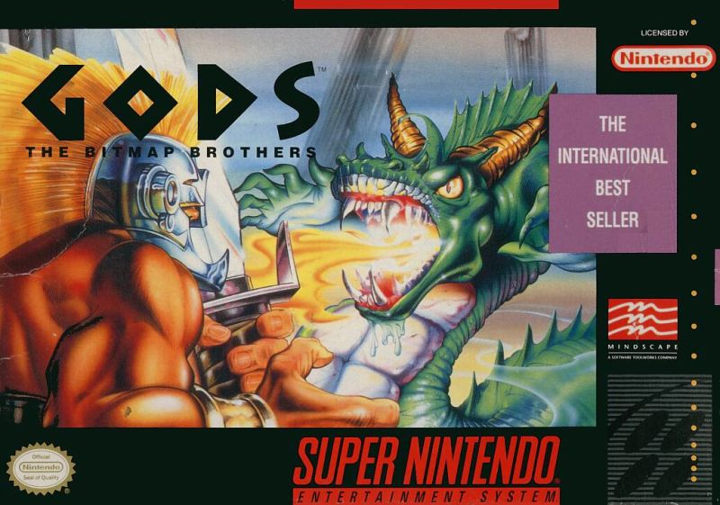 Gods for SNES (1992) - MobyGames