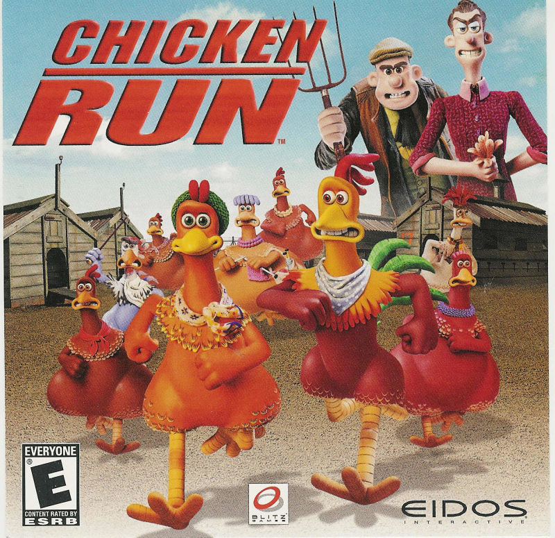 Chicken Run Windows Front Cover