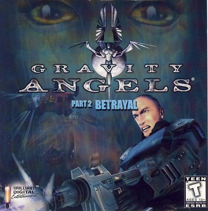Gravity Angels Part 2: The Betrayal Windows Front Cover