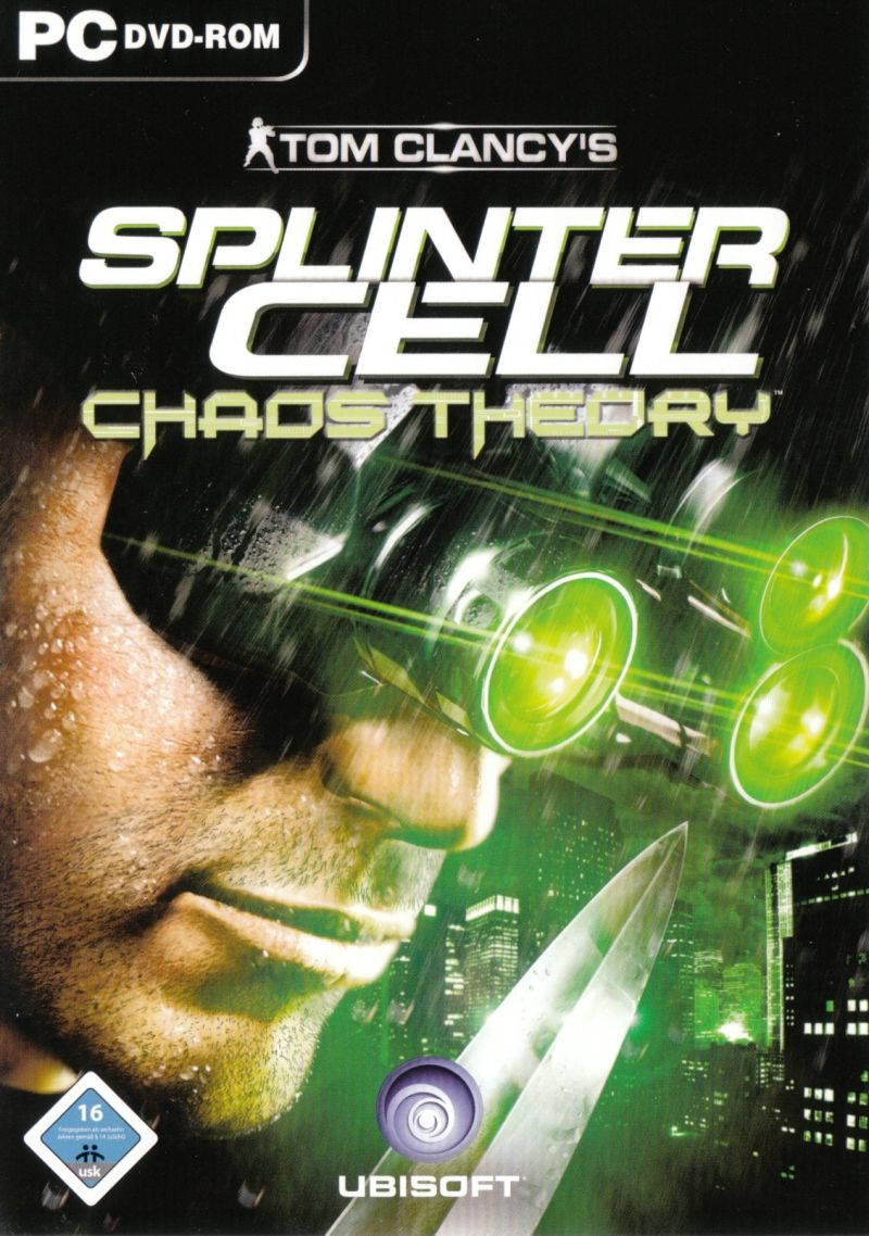Tom Clancy's Splinter Cell: Chaos Theory Windows Front Cover