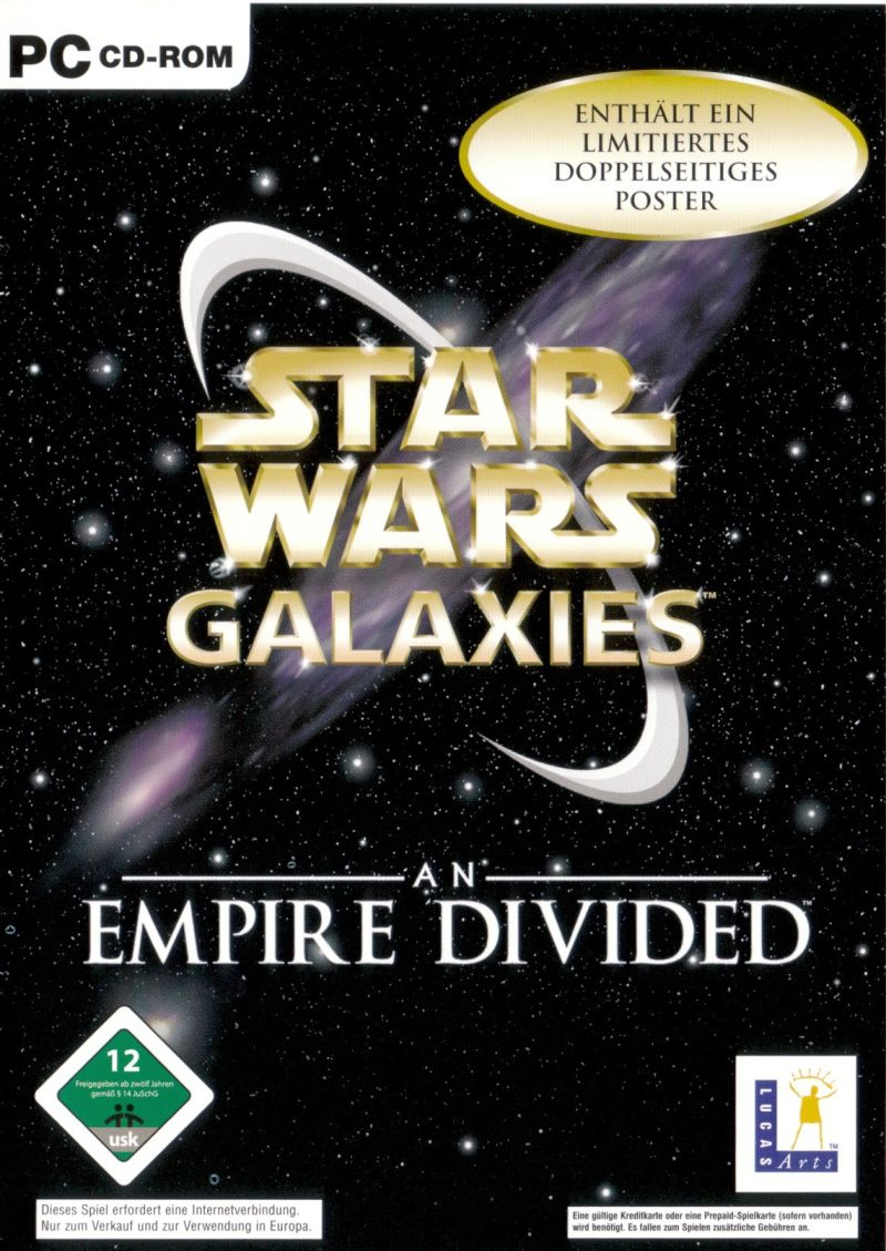 Star Wars: Galaxies - An Empire Divided Windows Other Keep Case - Front