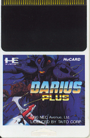 Darius+ TurboGrafx-16 Media