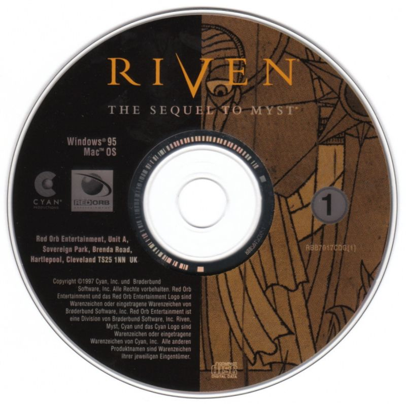 Riven: The Sequel to Myst Windows Media Disc 1