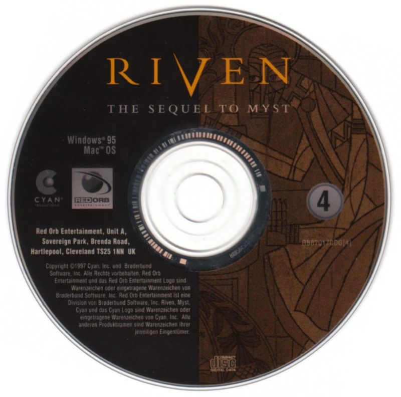 Riven: The Sequel to Myst Windows Media Disc 4