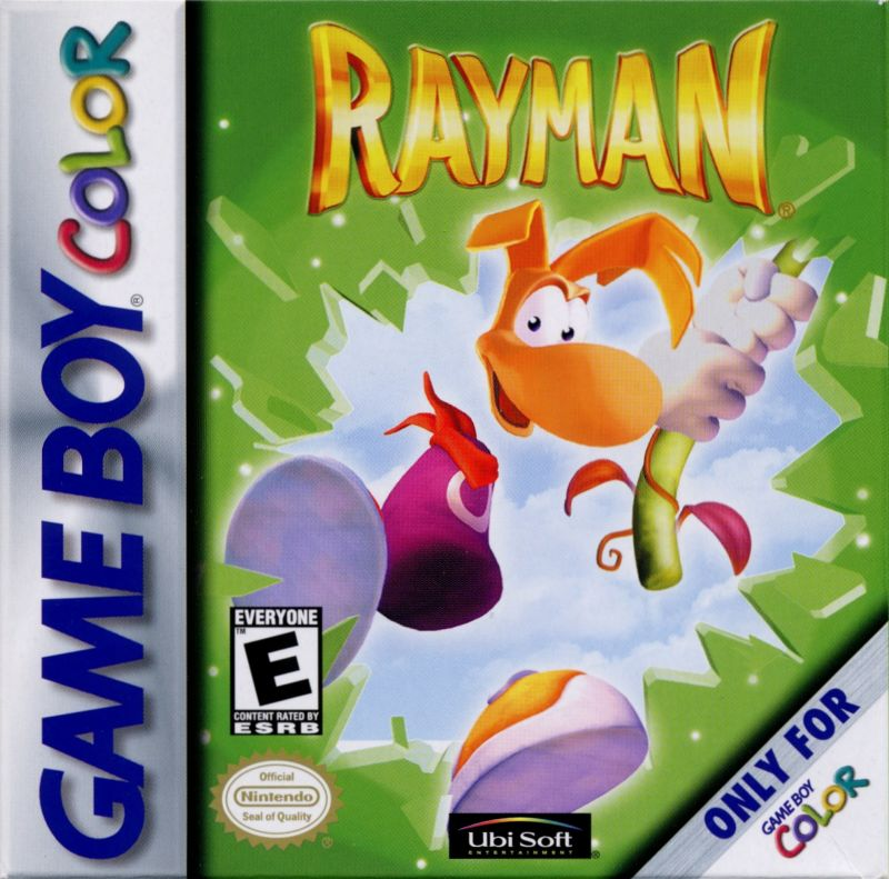 Rayman Game Boy Color Front Cover