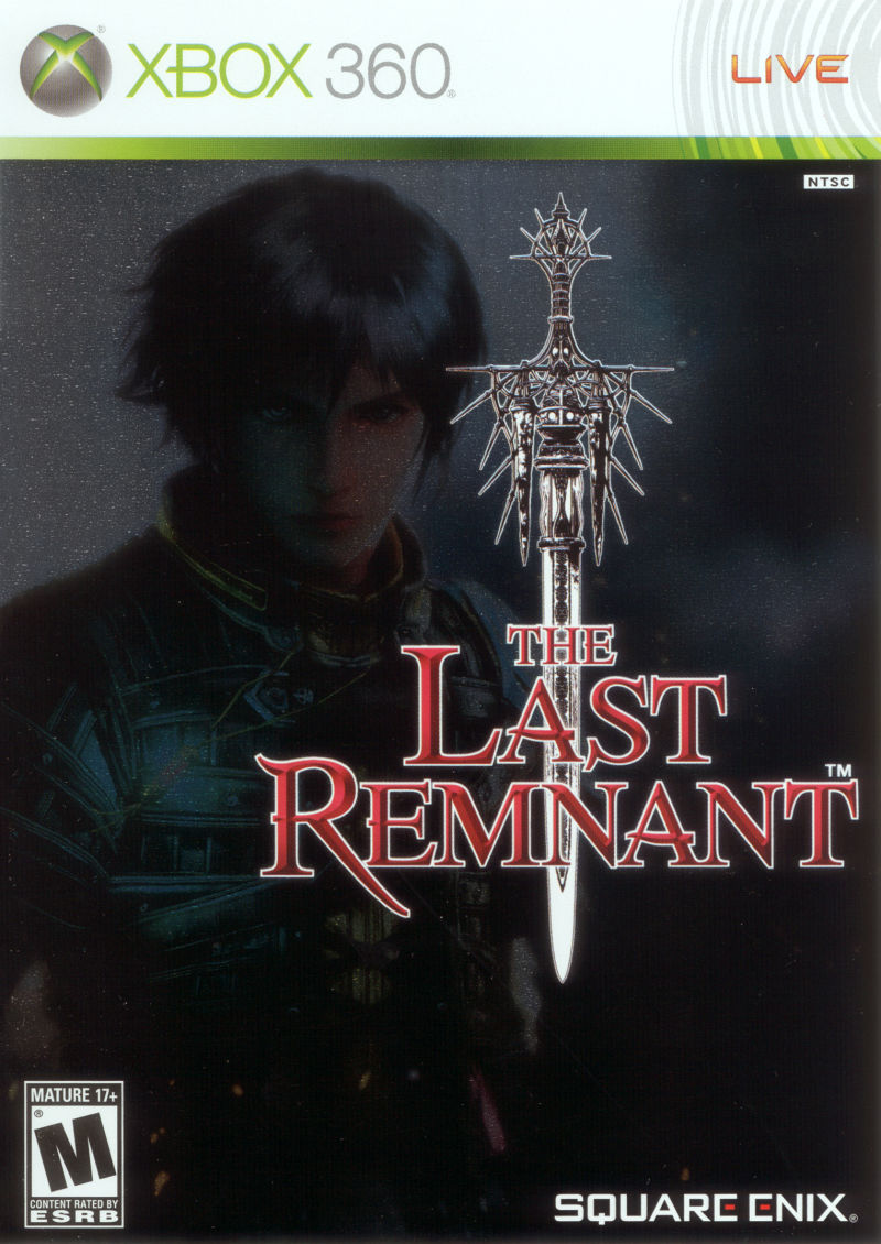 The Last Remnant Xbox 360 Front Cover