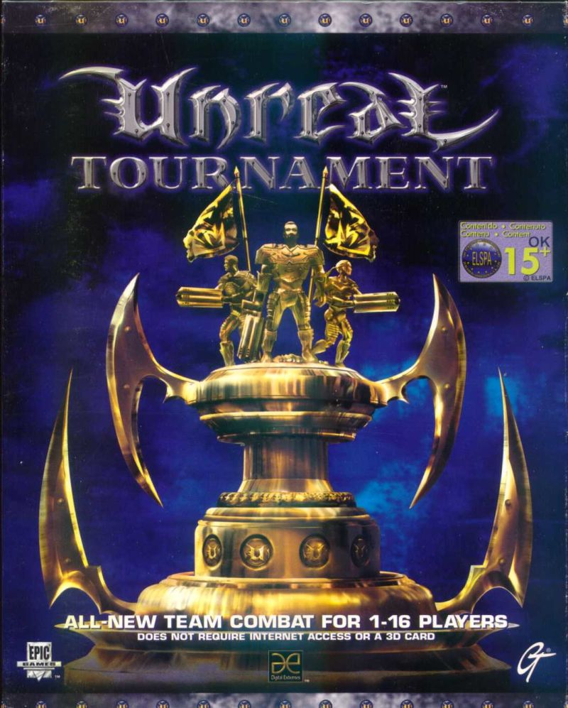 Unreal Tournament Windows Front Cover