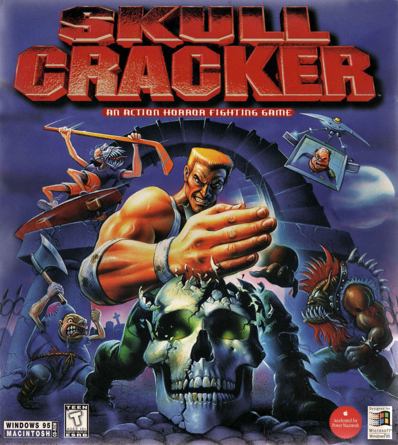 Skull Cracker Macintosh Front Cover