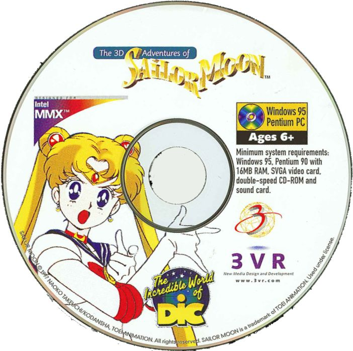 The 3D Adventures of Sailor Moon Windows Media