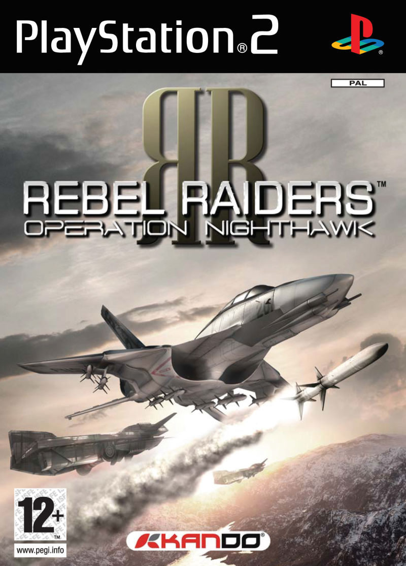 Rebel Raiders: Operation Nighthawk PlayStation 2 Front Cover