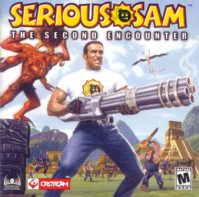 Serious Sam: The Second Encounter Windows Other Jewel Case - Front