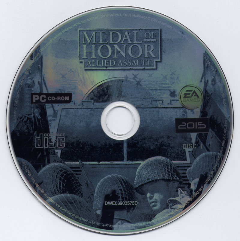 Medal of Honor: Allied Assault Windows Media Disc 1/2
