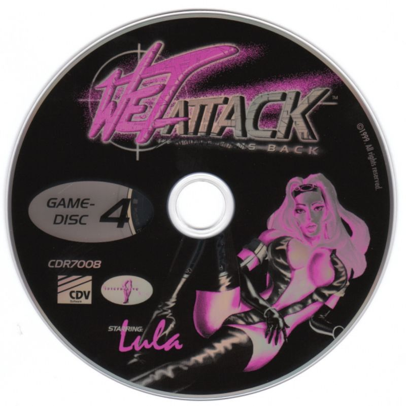 Wet Attack: The Empire Cums Back Windows Media Game Disc 4/4