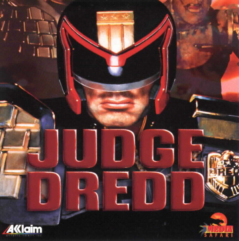 Judge Dredd DOS Front Cover