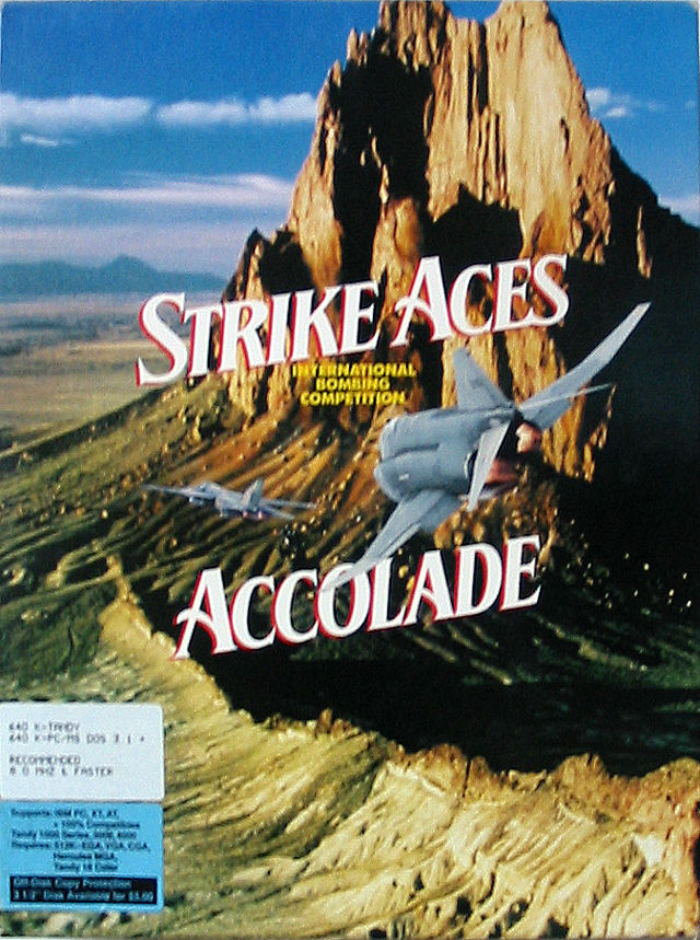 Strike Aces DOS Front Cover