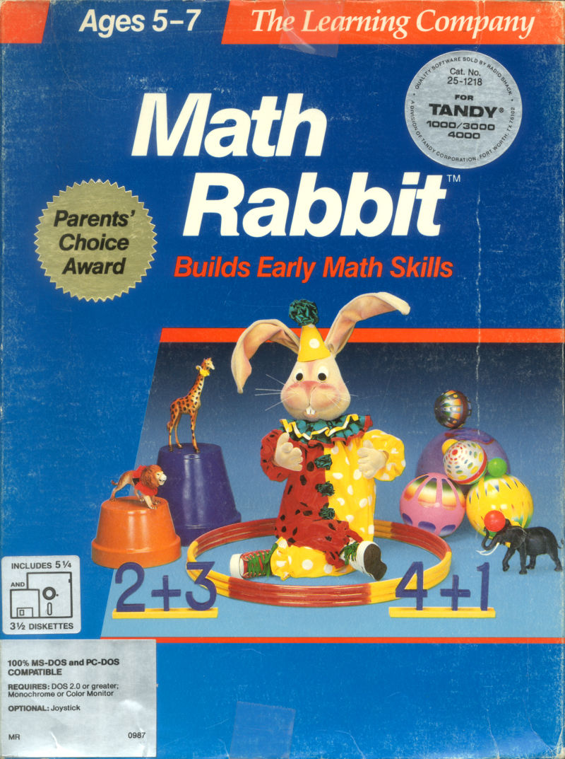 Math Rabbit For Apple Ii 1986 Mobygames