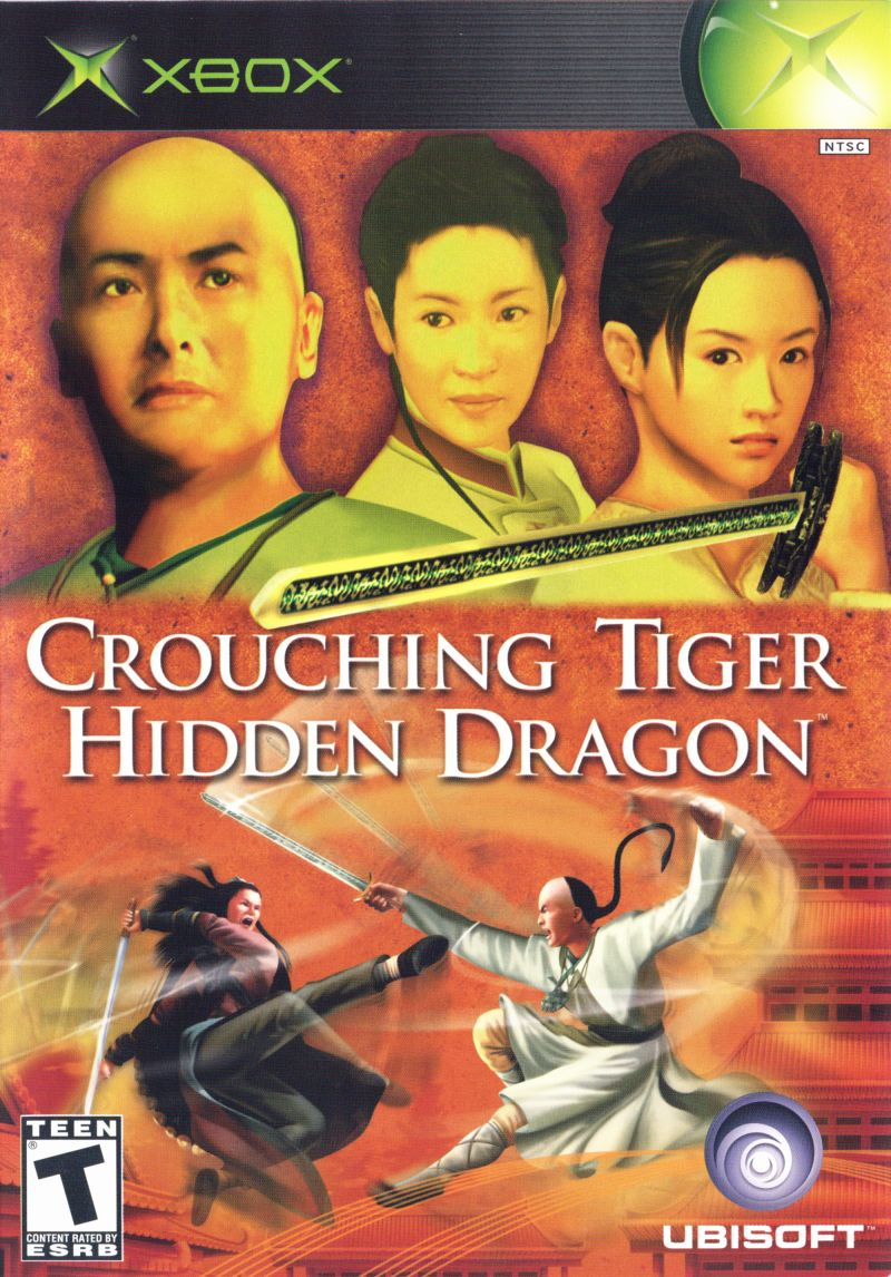 Crouching Tiger Hidden Dragon Xbox Front Cover