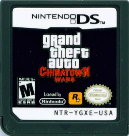 Grand Theft Auto: Chinatown Wars Nintendo DS Media