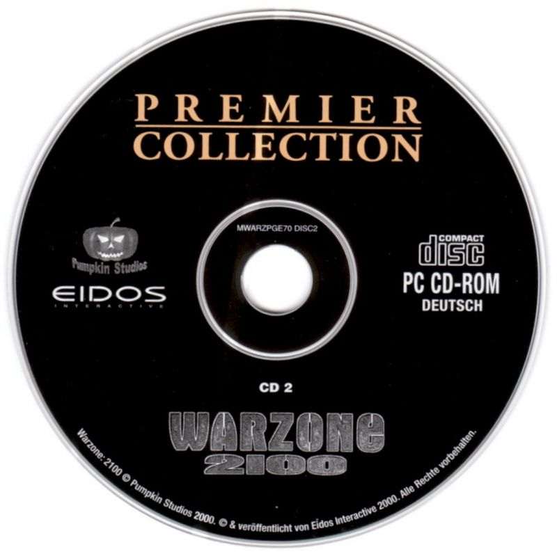 Warzone 2100 Windows Media Disc 2/2