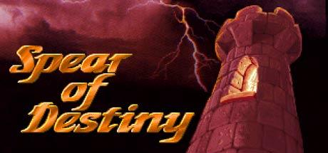 Spear of Destiny Windows Front Cover Steam release