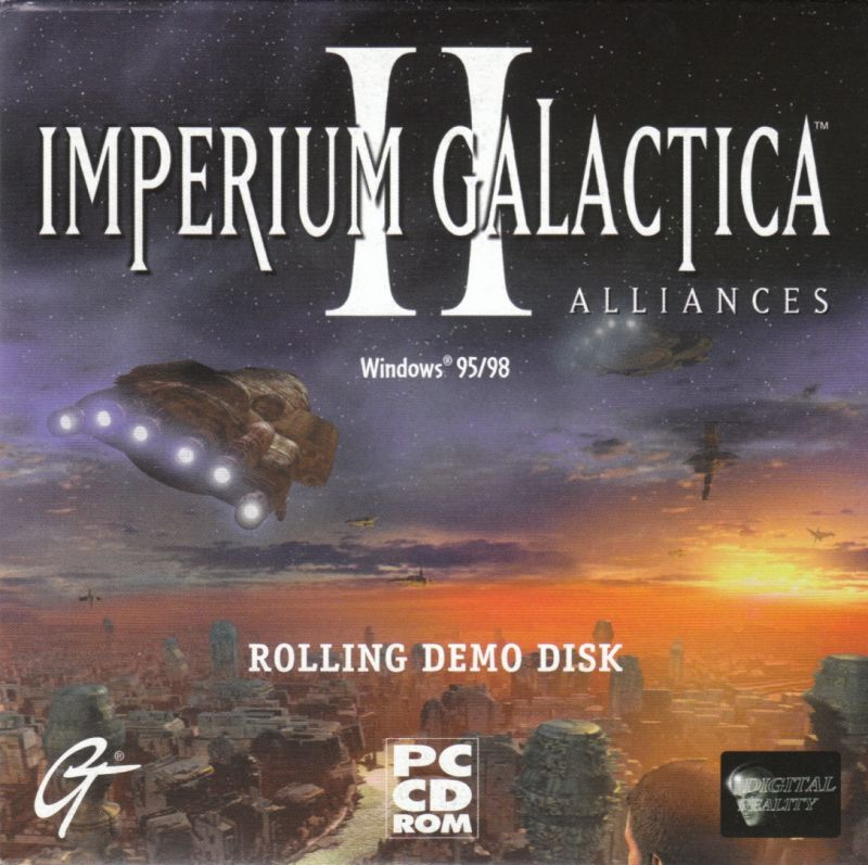 Unreal Tournament Windows Other Cardboard Sleeve - Rolling Demo Disc Imperium Galactica II - Front