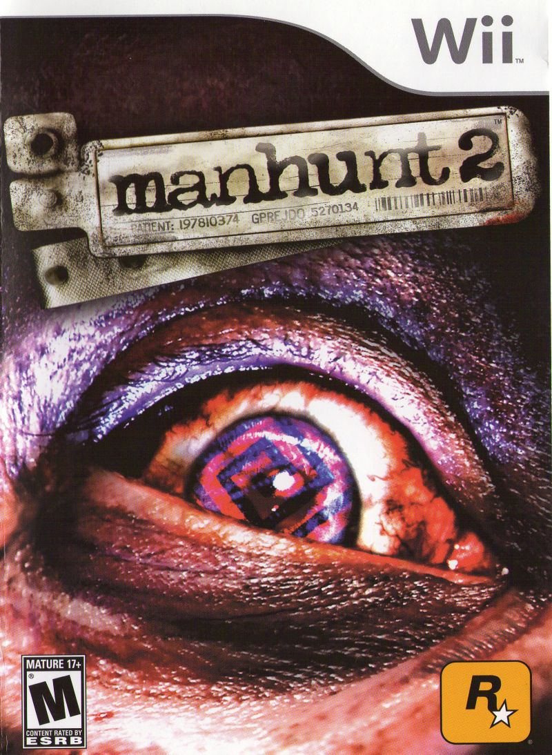 Manhunt 2 Wii Front Cover
