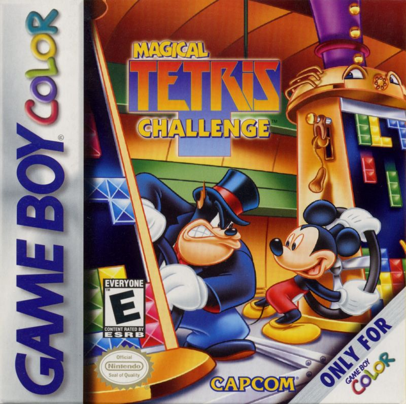 Magical Tetris Challenge For Game Boy Color 2000 Mobygames