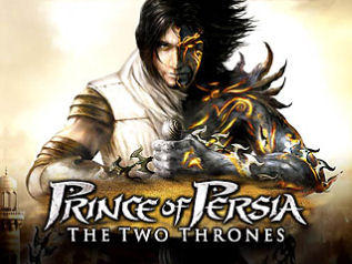 Prince of Persia: The Two Thrones Macintosh Front Cover