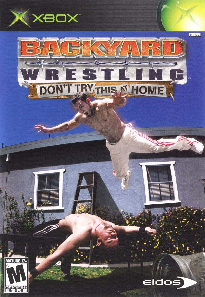 Backyard Wrestling: Don't Try This at Home for Xbox (2003 ...