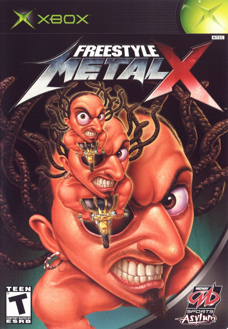 Freestyle MetalX Xbox Front Cover