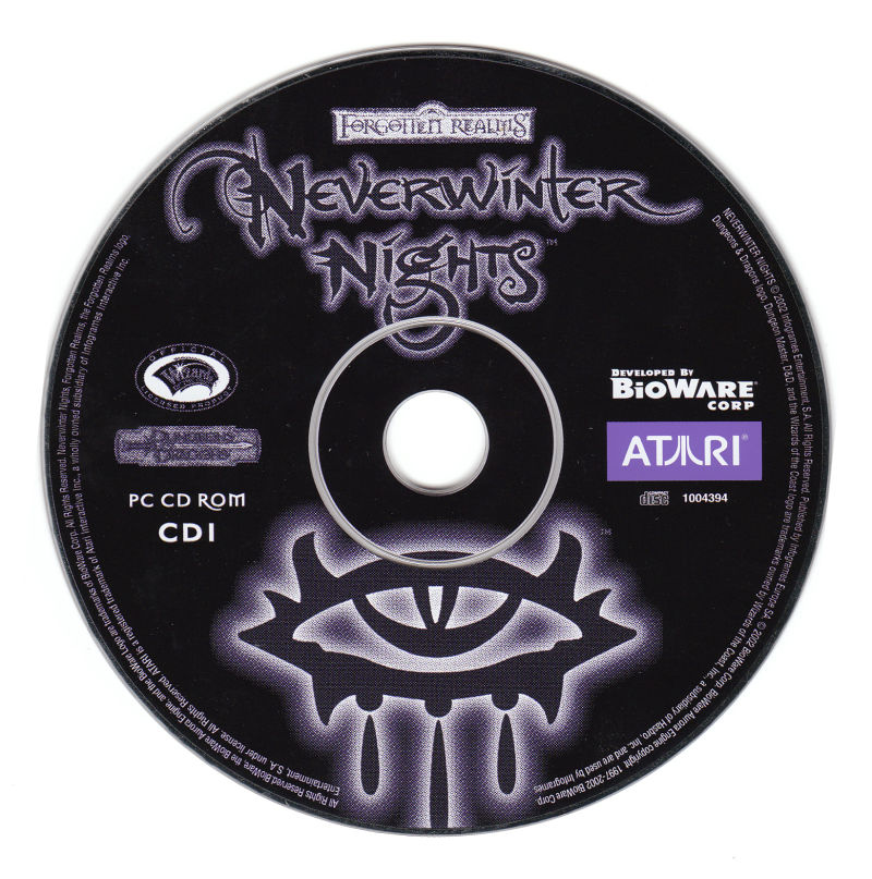 Neverwinter Nights Windows Media Disc 1