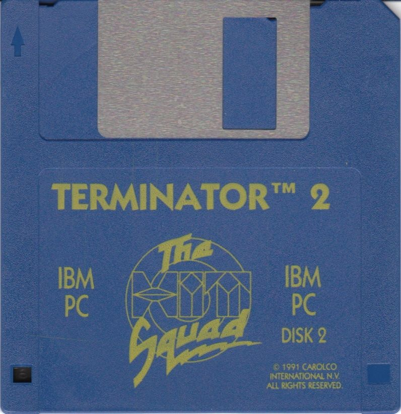 Terminator 2: Judgment Day DOS Media Disk 2/2