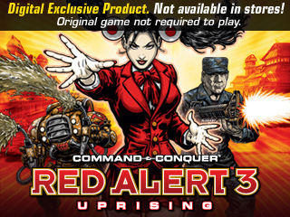 Command & Conquer: Red Alert 3 - Uprising Windows Front Cover
