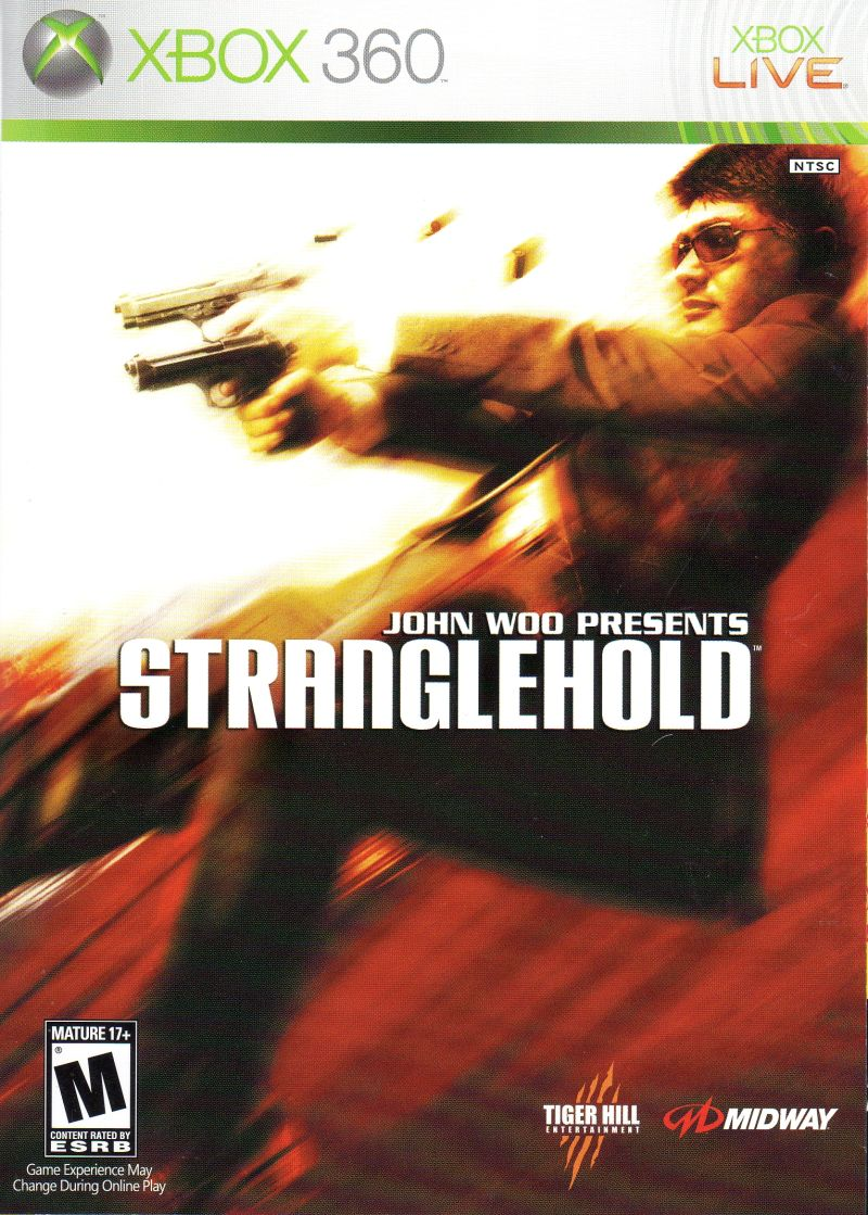 Stranglehold Xbox 360 Front Cover