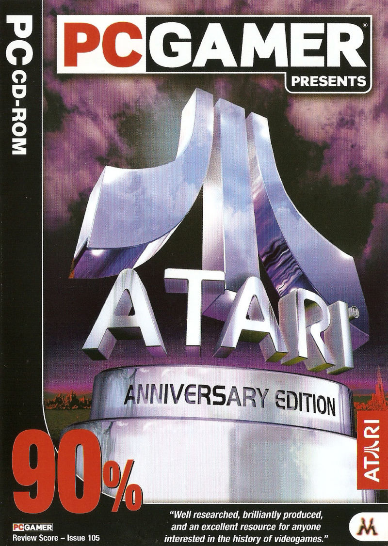 Atari: Anniversary Edition Windows Front Cover