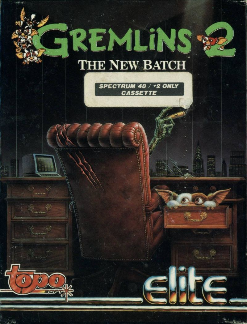 Gremlins 2: The New Batch ZX Spectrum Front Cover