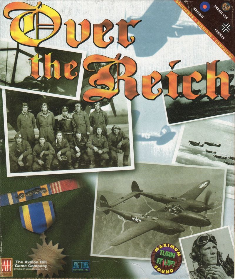 Over the Reich Macintosh Front Cover