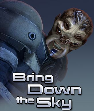 Mass Effect: Bring Down the Sky Windows Front Cover