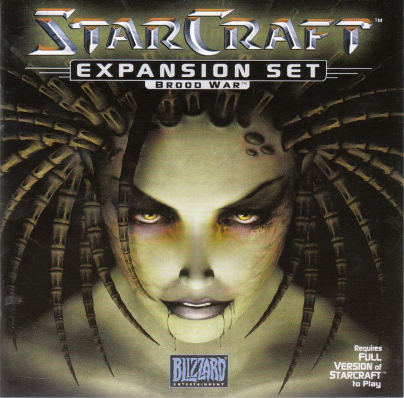 StarCraft: Brood War Windows Other Jewel Case - Front