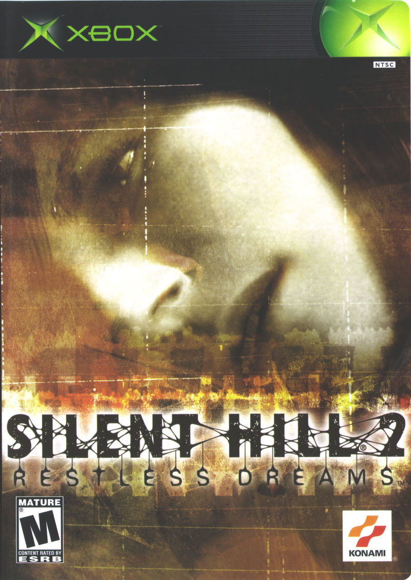 Silent Hill 2: Restless Dreams Xbox Front Cover