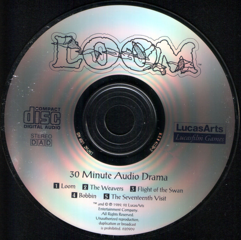 Loom DOS Media Addendum Audio Drama CD