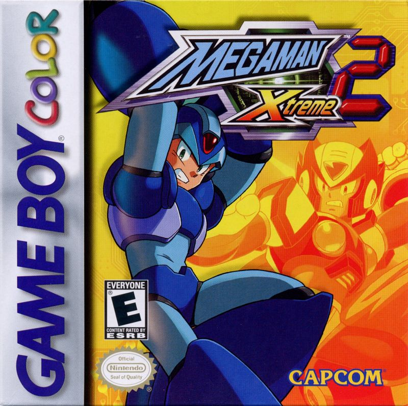 Mega Man Xtreme 2 Game Boy Color Front Cover