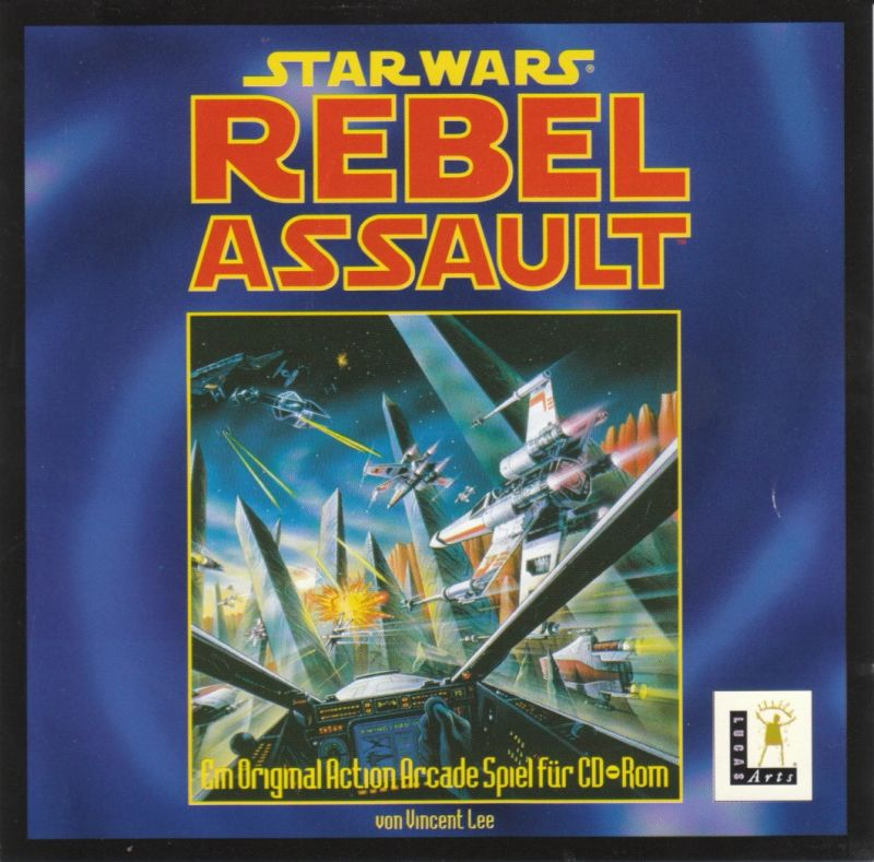 Star Wars: Rebel Assault DOS Other Jewel Case - Front