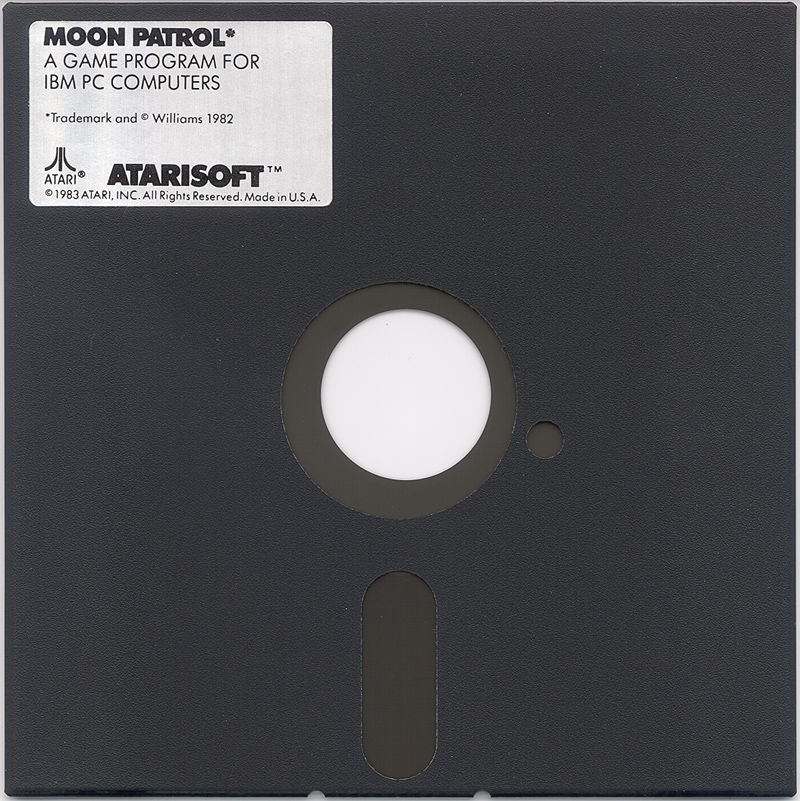 Moon Patrol PC Booter Media