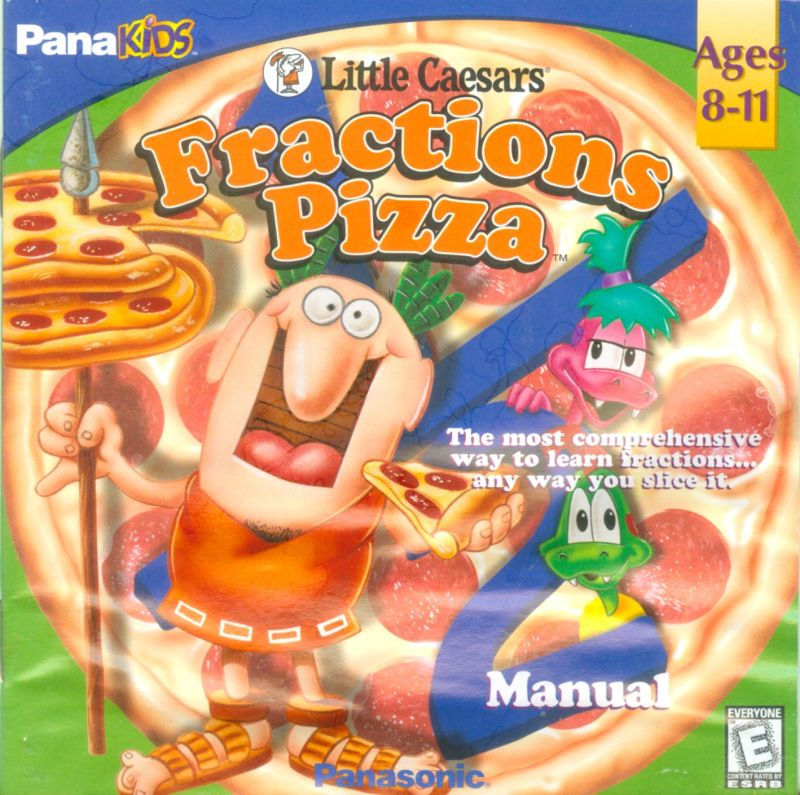 Little Caesars Fractions Pizza Macintosh Other Jewel case -- front