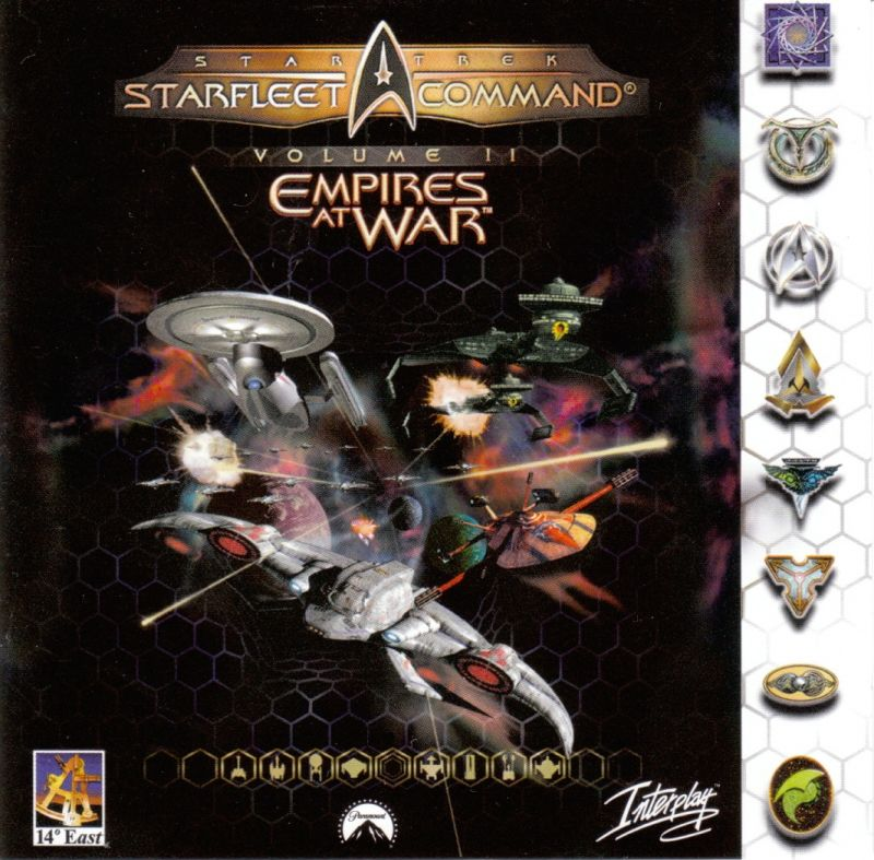 Star Trek: Starfleet Command Volume II - Empires at War Windows Other Jewel Case - Front