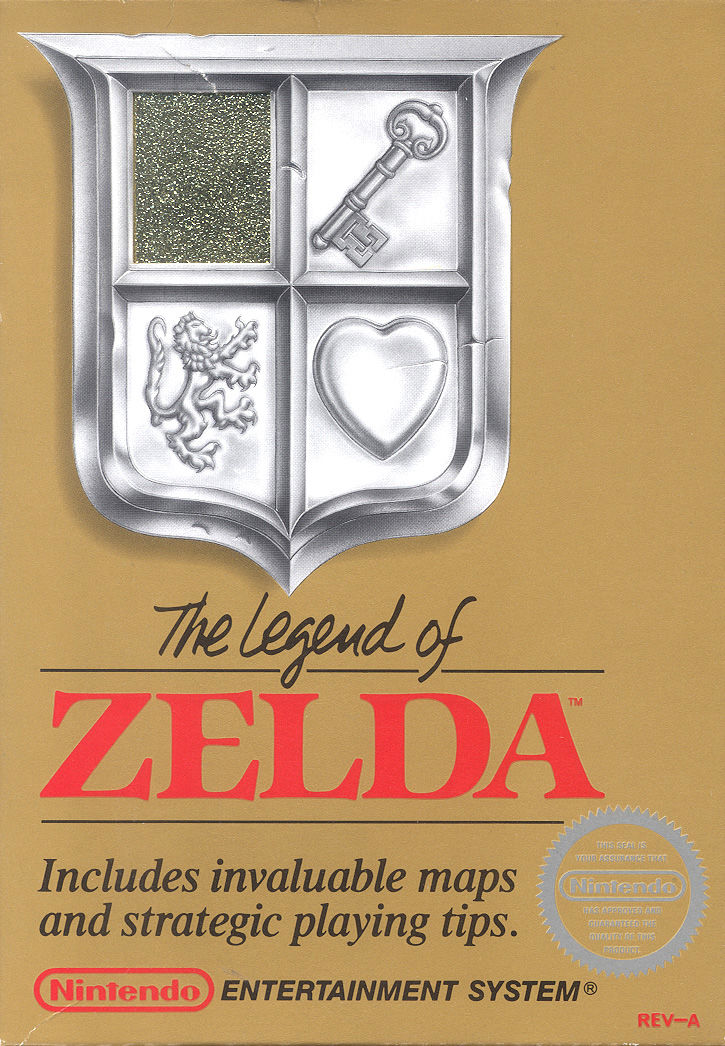 The Legend of Zelda NES Front Cover