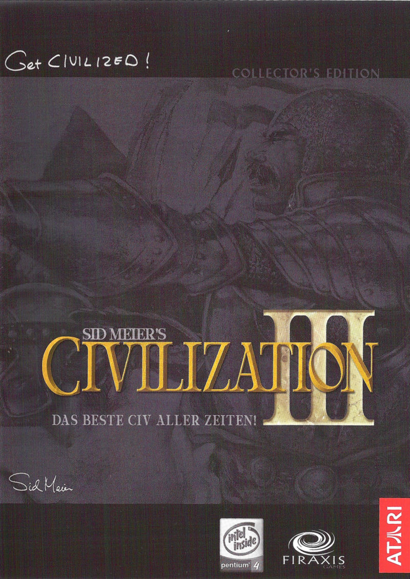 Sid Meier's Civilization III: Complete Windows Other Fan Kit - Keep Case - Front