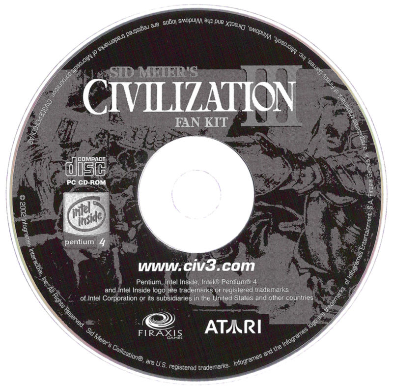 Sid Meier's Civilization III: Complete Windows Media Fan Kit